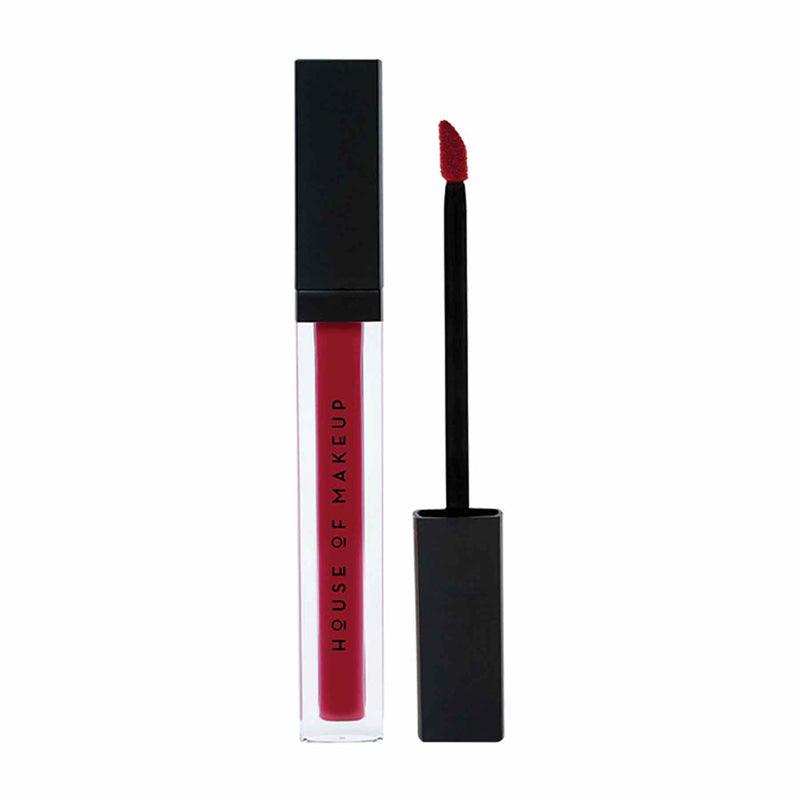 Shop Pout Potion Liquid Matte Lipstick-Drama Queen from House of Makeup on SublimeLife.in. Best for a smudge-free pout.