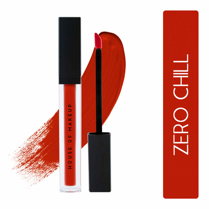 Shop Pout Potion Liquid Matte Lipstick-Zero Chill from House of Makeup on SublimeLife.in. Best for a smudge-free pout.