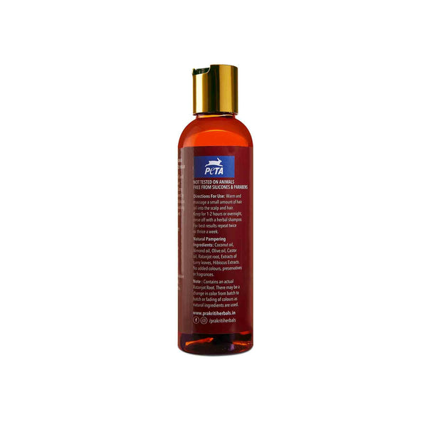 Shop Prakriti Herbals Hairfall Control Ratanjot Curry Leaf Hair Oil from Sublime Life. Best for hairfall control.