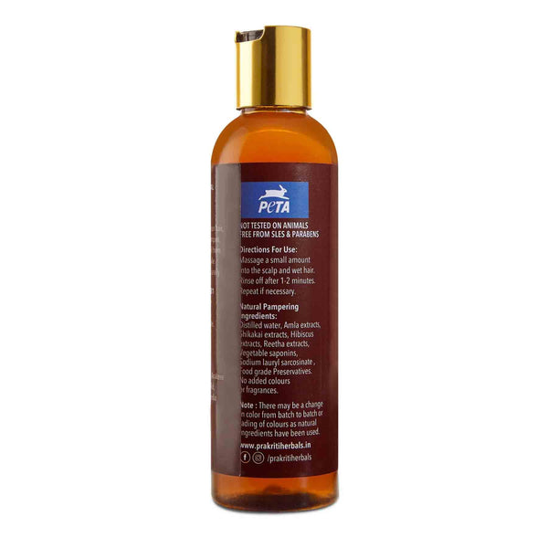Shop Prakriti Herbals Oil Control Amla Shikakai Shampoo from Sublime Life. Suitable for Oily and Damaged hair.