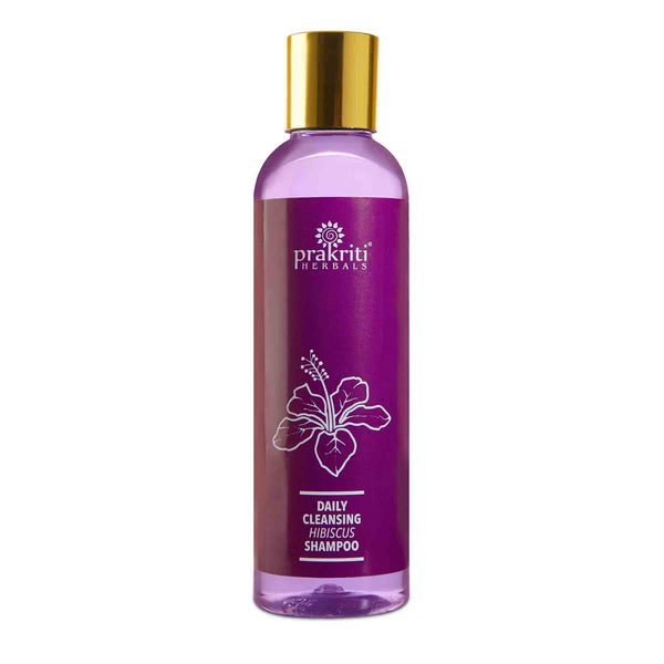 Shop Prakriti Herbals Daily Cleansing Hibiscus Shampoo from Sublime Life. Best for dry and damaged hair.