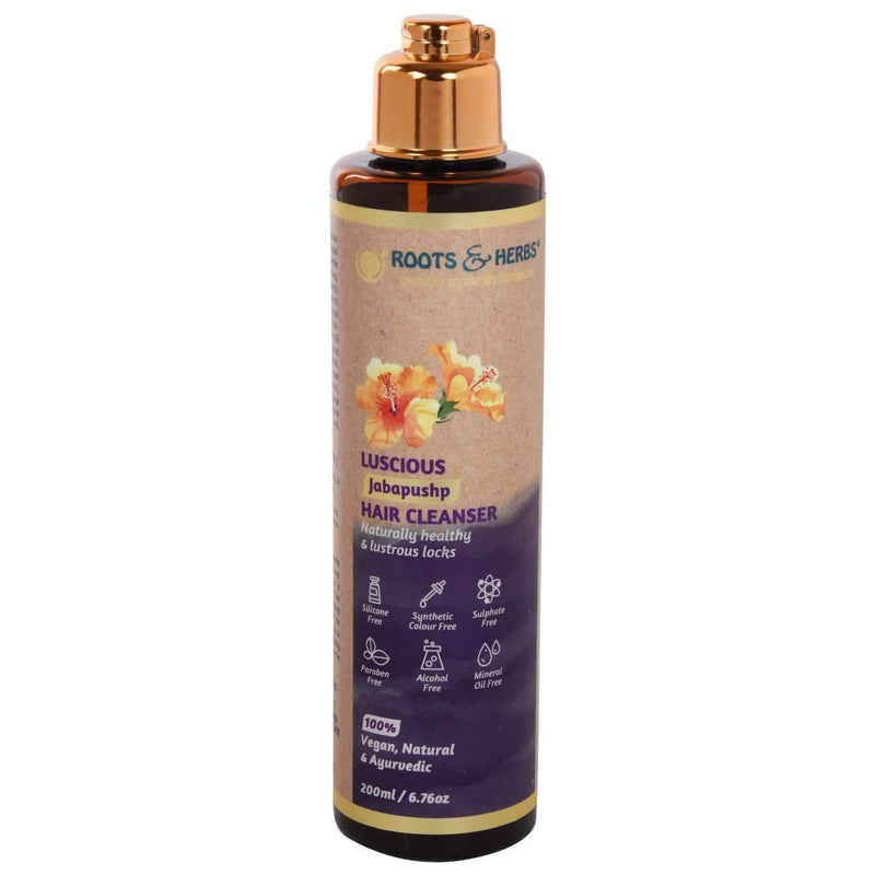 Shop Voluminising Jatamansi Hair Cleanser from Roots & Herbs on SublimeLife.in. Best for oily and dry hair.