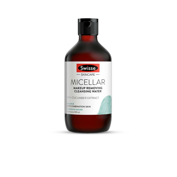 Swisse Balanced Micellar Cleansing & Makeup Removing Water with Cucumber Extract