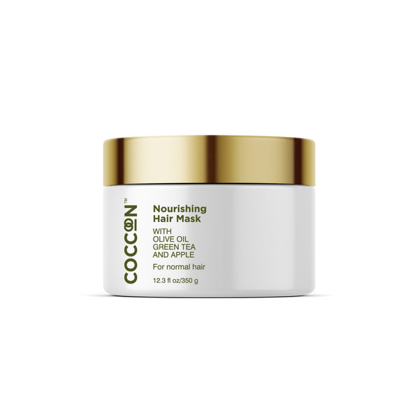 This is an image of The Nourishing Hair Mask from Coccoon on SublimeLife.in. It nourishes, add shine and controls frizz.
