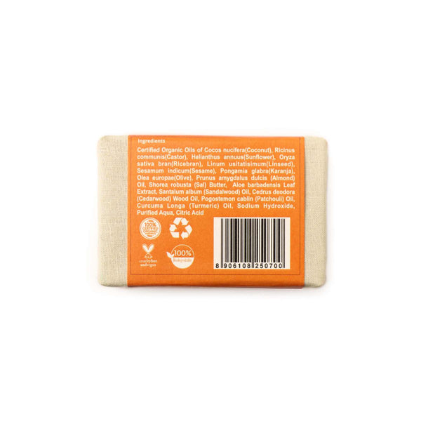 Shop Sandal Soap from Rustic Art on SublimeLife.in. Best for anti-aging.