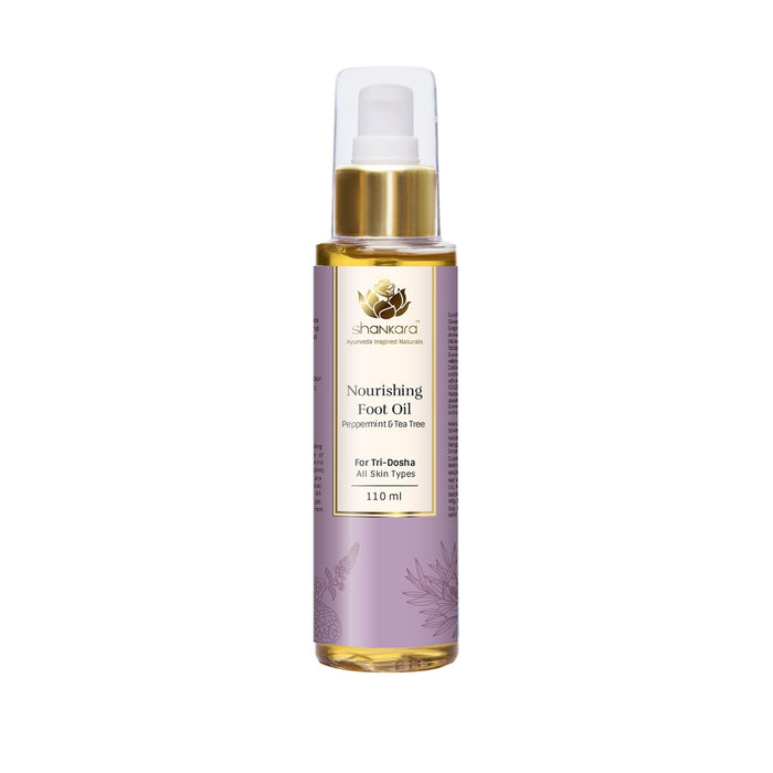 This is an image of Nourishing Foot Oil from Shankara on www.sublimelife.in.