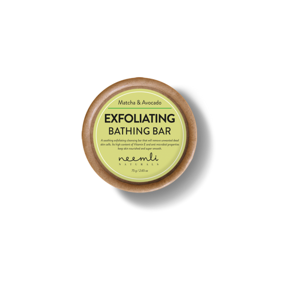 Matcha & Avocado Exfoliating Bathing Bar-Body bar