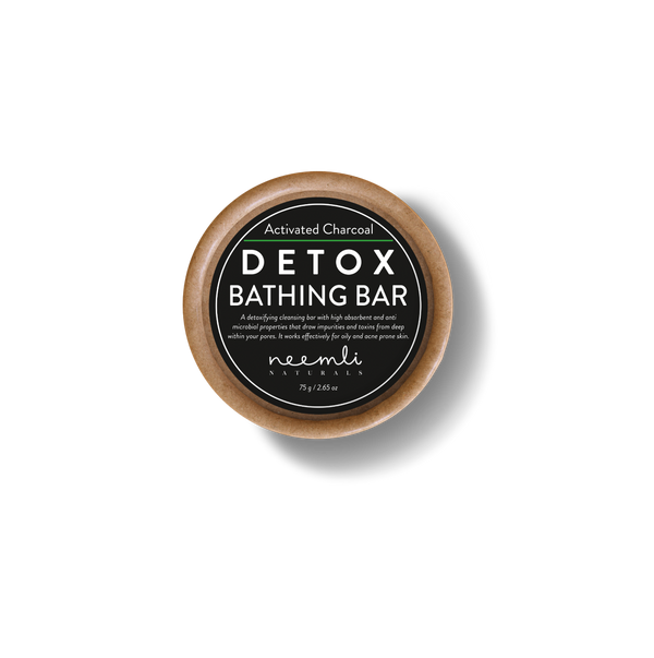 Activated Charcoal Detox Bathing Bar-Body bar