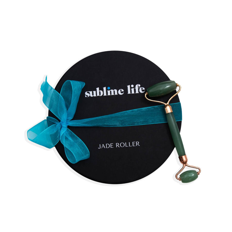 Shop Jade Roller on SublimeLife.in. Best for giving your skin an instant wake up call and also tightens the skin.