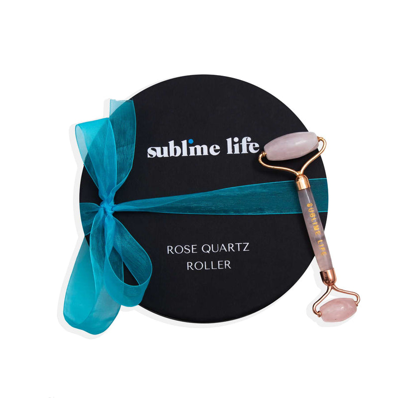 Shop Rose Quartz Roller on SublimeLife.in. Best for re-energising your skin giving it a glow.