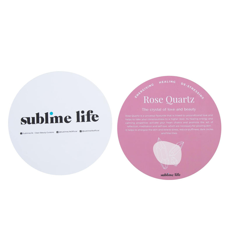 Rose Quartz Roller- Sublime Life