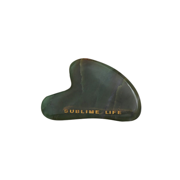Shop Jade Gua Sha on SublimeLife.in. Best for reducing signs of ageing, acne and boosting blood circulation.