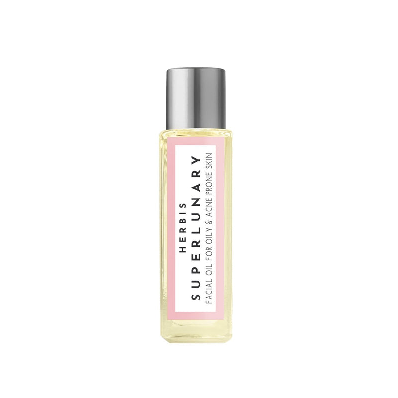 Shop Superlunary Face Oil-Mini from Herbis Botanicals on SublimeLife.in. Best for unclogging pores giving you a healthy glow.