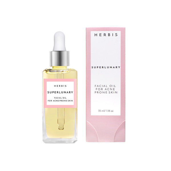 Shop Superlunary Face Oil from Herbis Botanicals on SublimeLife.in. Best for unclogging pores giving you a healthy glow.