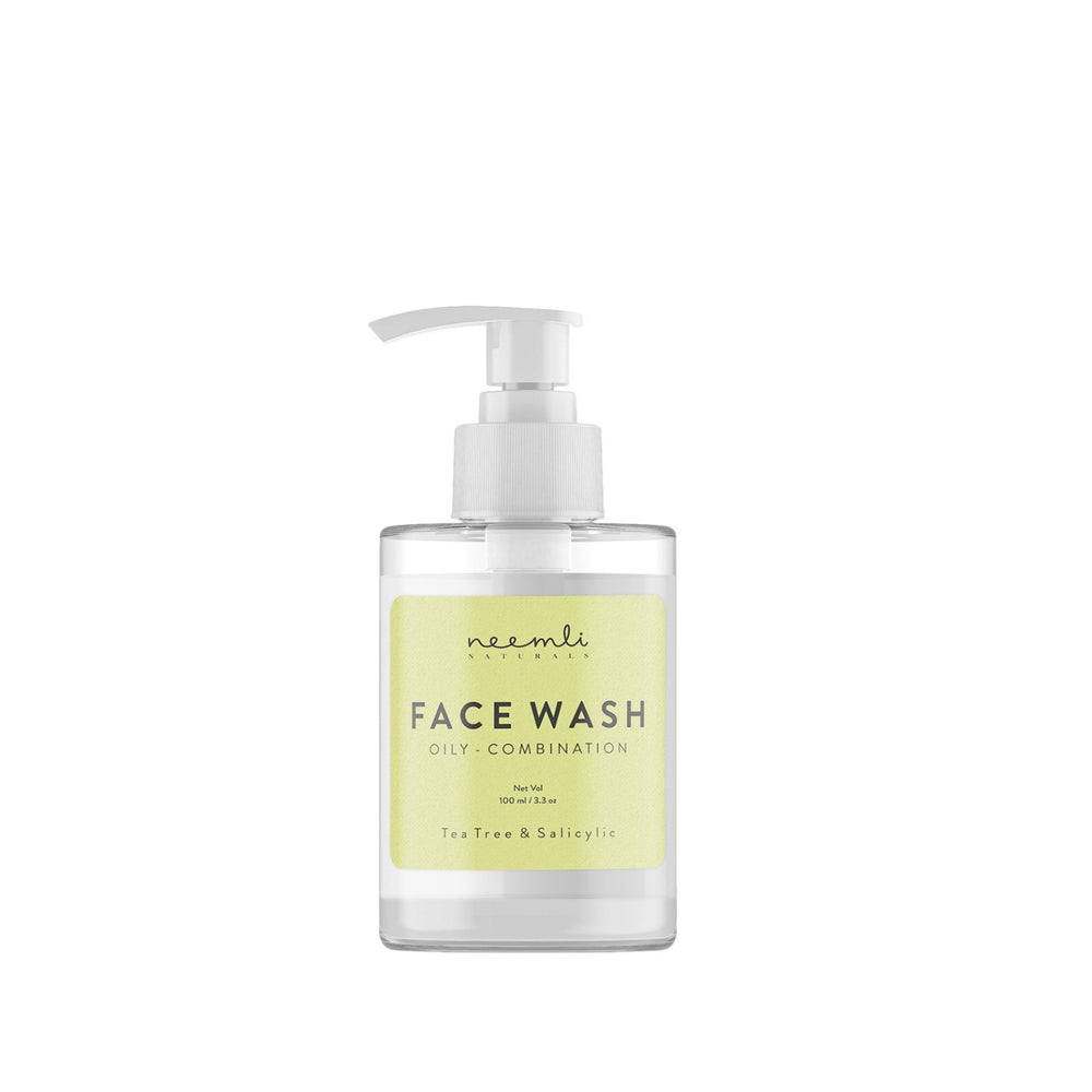 This is an image of Neemli Naturals Tea Tree & Salicylic Face Wash on www.sublimelife.in