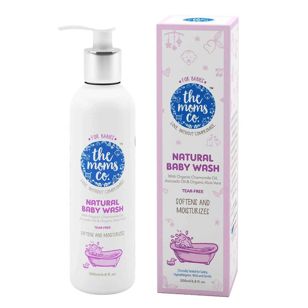 Shop Natural Baby Wash from The Mom's Co on SublimeLife.in. Best for gently protecting your baby's skin.