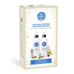 Shop Protein Hair Care Bundle from The Mom's Co on SublimeLife.in. Best for adding volume and strengthening hair.