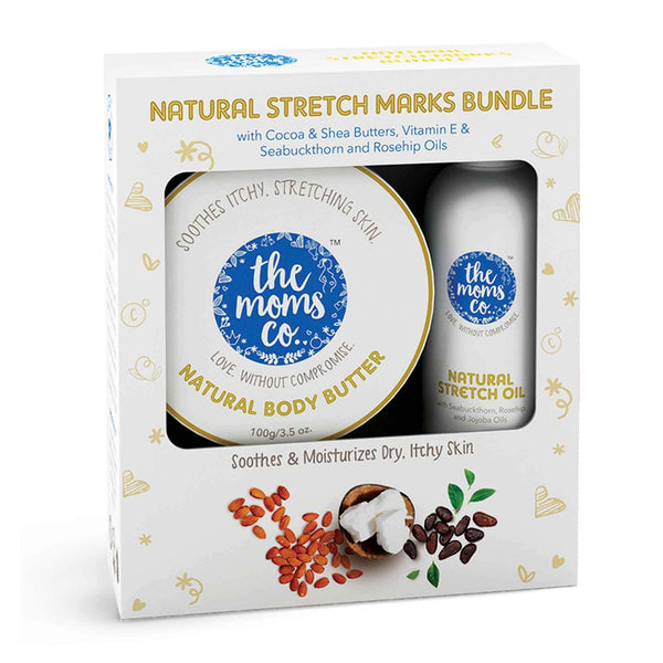 Shop Stretch Marks Bundle from The Mom's Co on SublimeLife.in. Best for removing stretch marks naturally.