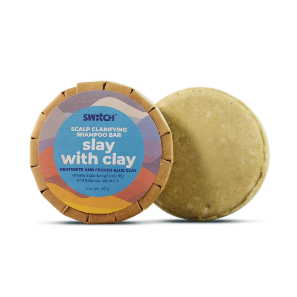 This is an image of Switch Fix Slay With Clay Shampoo Bar on www.sublimelife.in