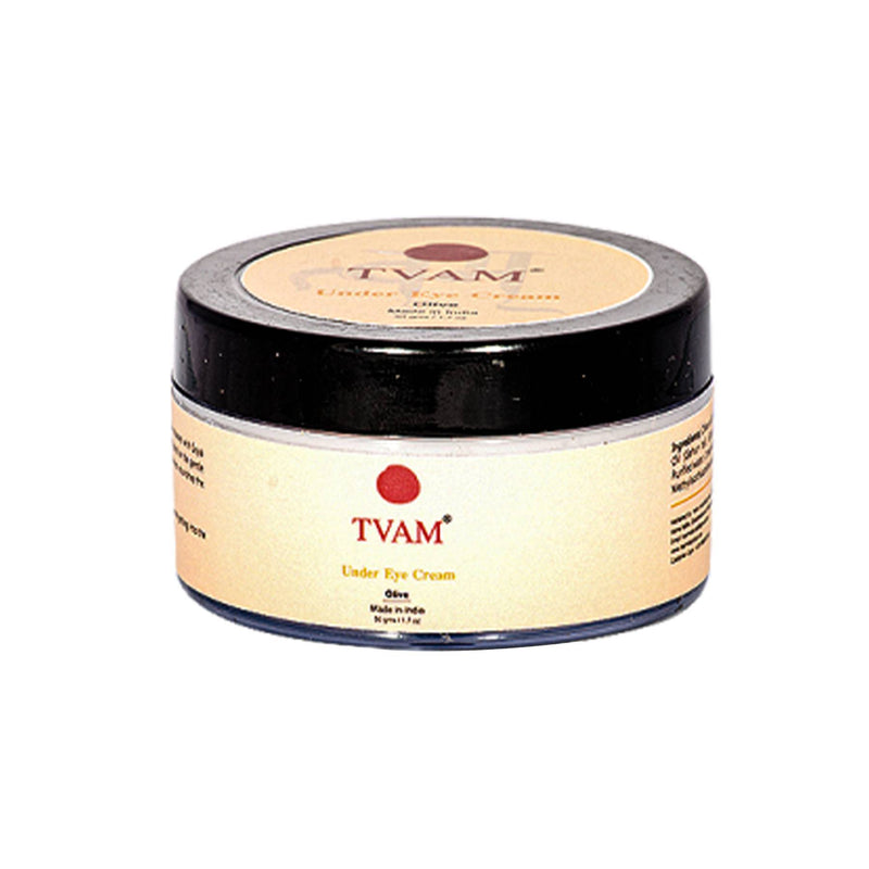 Shop Under Eye Cream - Olive from Tvam on SublimeLife.in. Best for getting rid of dark circles and puffiness.
