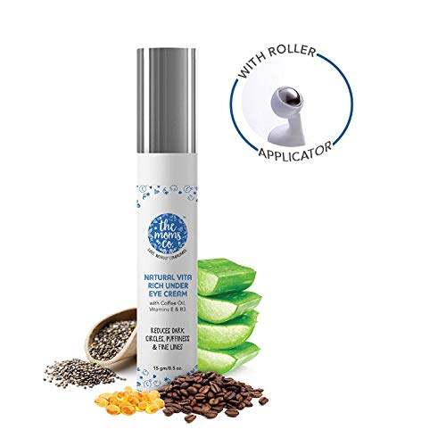 Shop Natural Vita Rich Under Eye Cream from The Mom's Co on SublimeLife.in. Best for working on your dark circles.