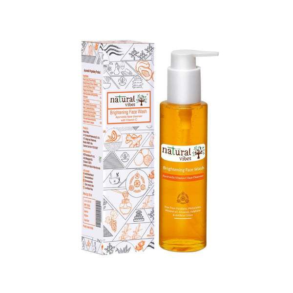 Ayurvedic Vitamin C Brightening Face Wash - Sublime Life