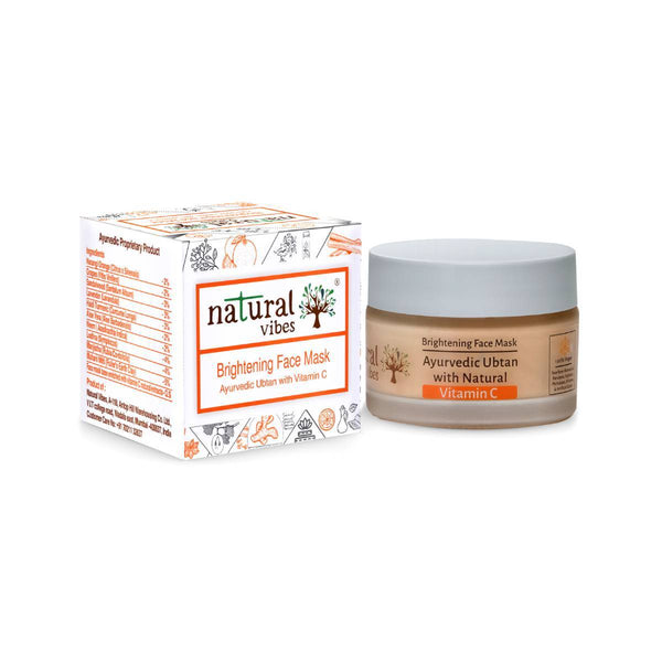 Ayurvedic Vitamin C Brightening Face Mask - Sublime Life