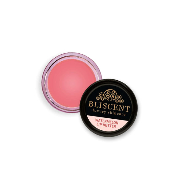 Shop Watermelon Lip Butter from Bliscent on SublimeLife.in. Best for healing dry and chapped lips.