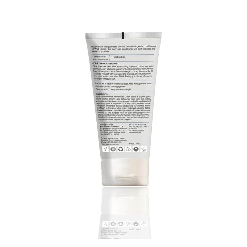 Shop Conditioner from Sova on SublimeLife.in. Best for gently conditioning your hair while straightening it.