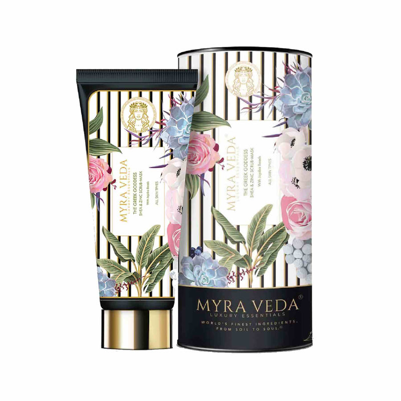 Shop Scrub Mask from Myra Veda on SublimeLife.in. Best for preventing skin-clogging by shrinking large pores.