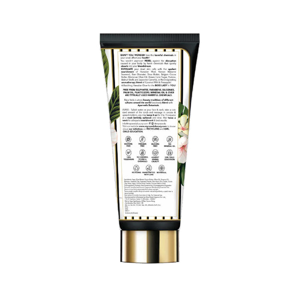Shop Hawaiian Mud & Seaweed Scrub from Myra Veda on SublimeLife.in. Best for getting rid of old, dirt and dead skin cells.