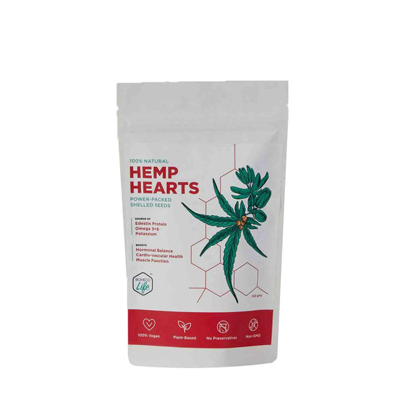 Shop Hemps Heart- Powder packed seeds  from Boheco Life on SublimeLife.in. Best as a source of wholesome nutrition.
