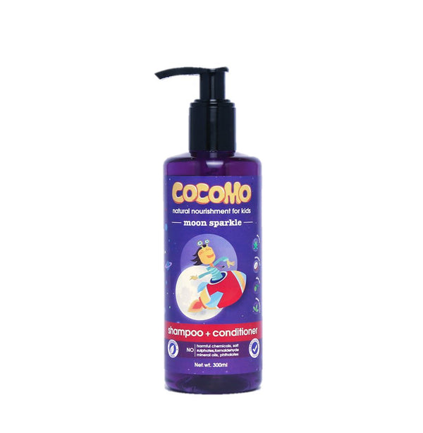 Moon Sparkle Shampoo & Conditioner 300ml (Age: 4 & up)