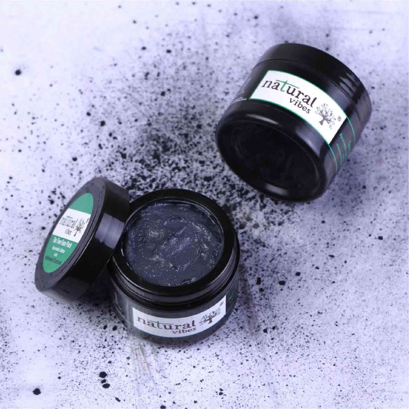 Ayurvedic Tea Tree and Activated Charcoal Face Pack