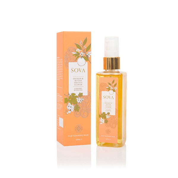 Sova Draksh & Bitter Orange Flower Luxury Hair Oil - Sublime Life