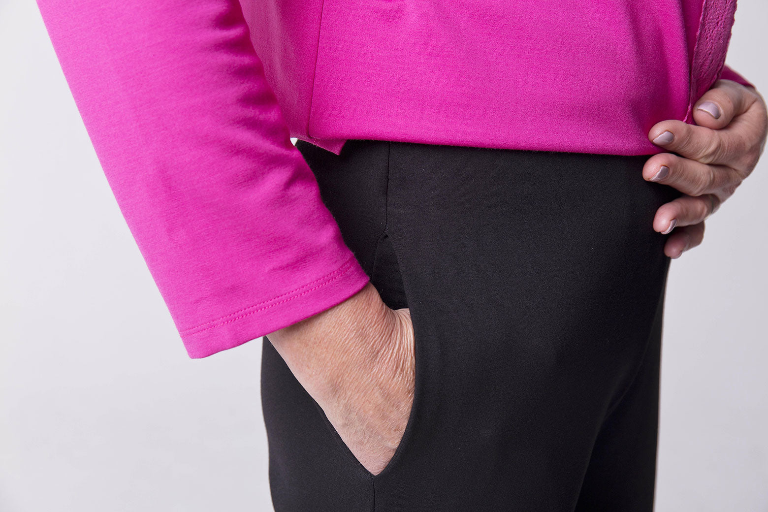 Easy Close Pink Velcro Soft Top