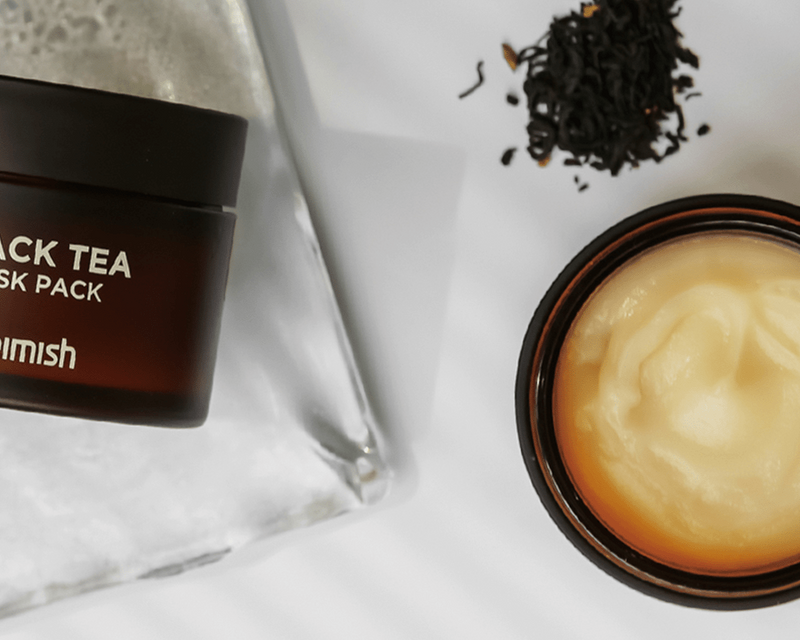 Black Tea Mask Pack