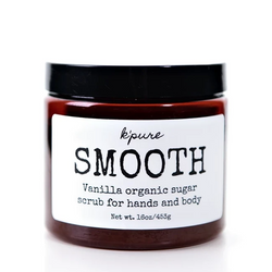 SMOOTH Organic Sugar Scrub for Hands and Body
