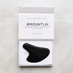 The Obsidian Gua Sha Facial Lifting Tool