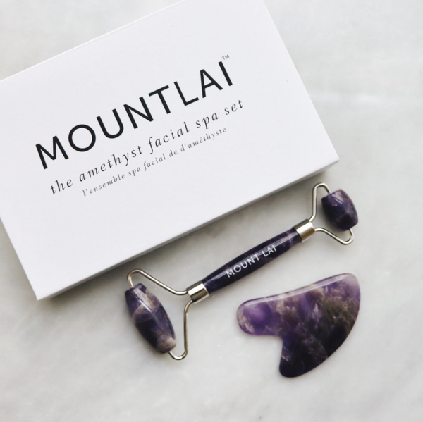 Amethyst Facial Spa Set