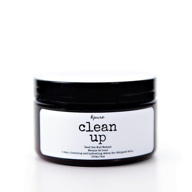 Clean Up Dead Sea Mud Masque