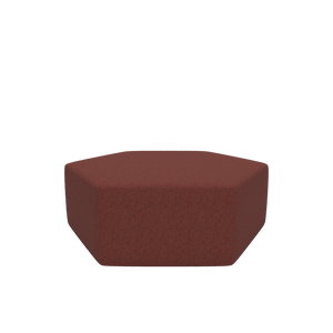 Earth Hexagon Ottoman