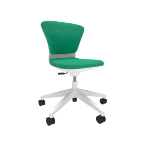Ōgi White Task Chair