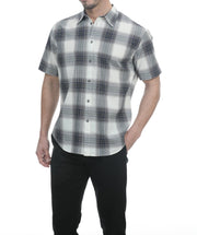 Big Wave Eddy Short Sleeve Check Plaid Shirt