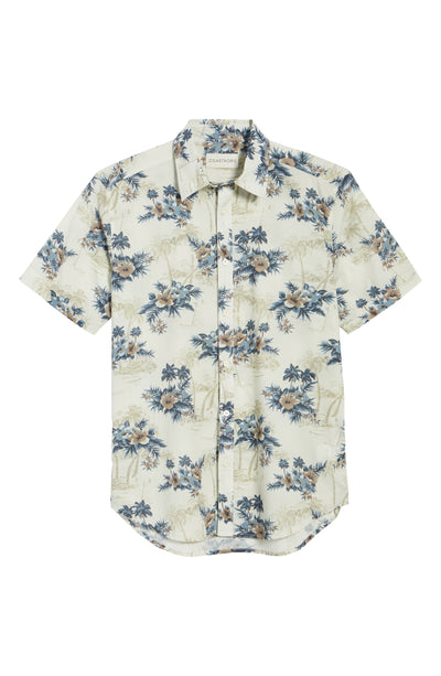 Kimahh Short Sleeve Botanical Shirt