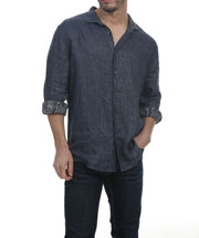 Palm Beach Long Sleeve Linen Shirt