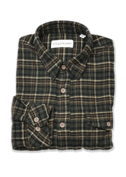 Nomaden Long Sleeve Check Button Up Flannel Shirt