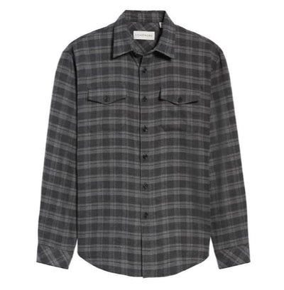 Encanto Regular Fit Plaid Flannel Shirt