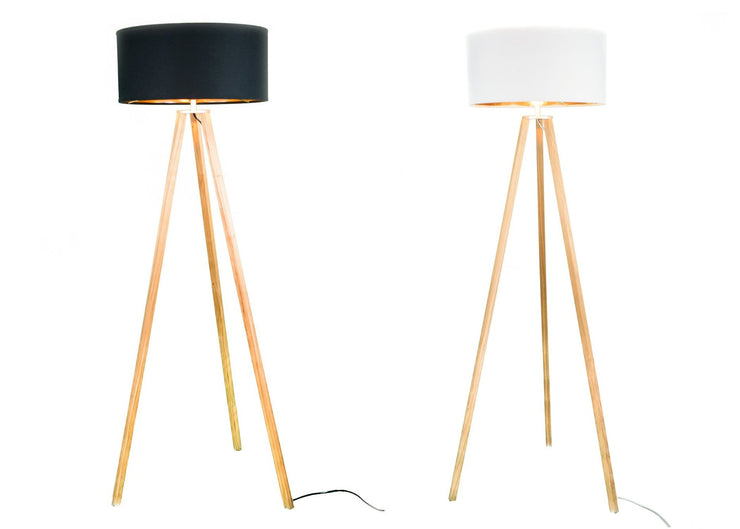 FITZ & ROY Stehlampe Holz