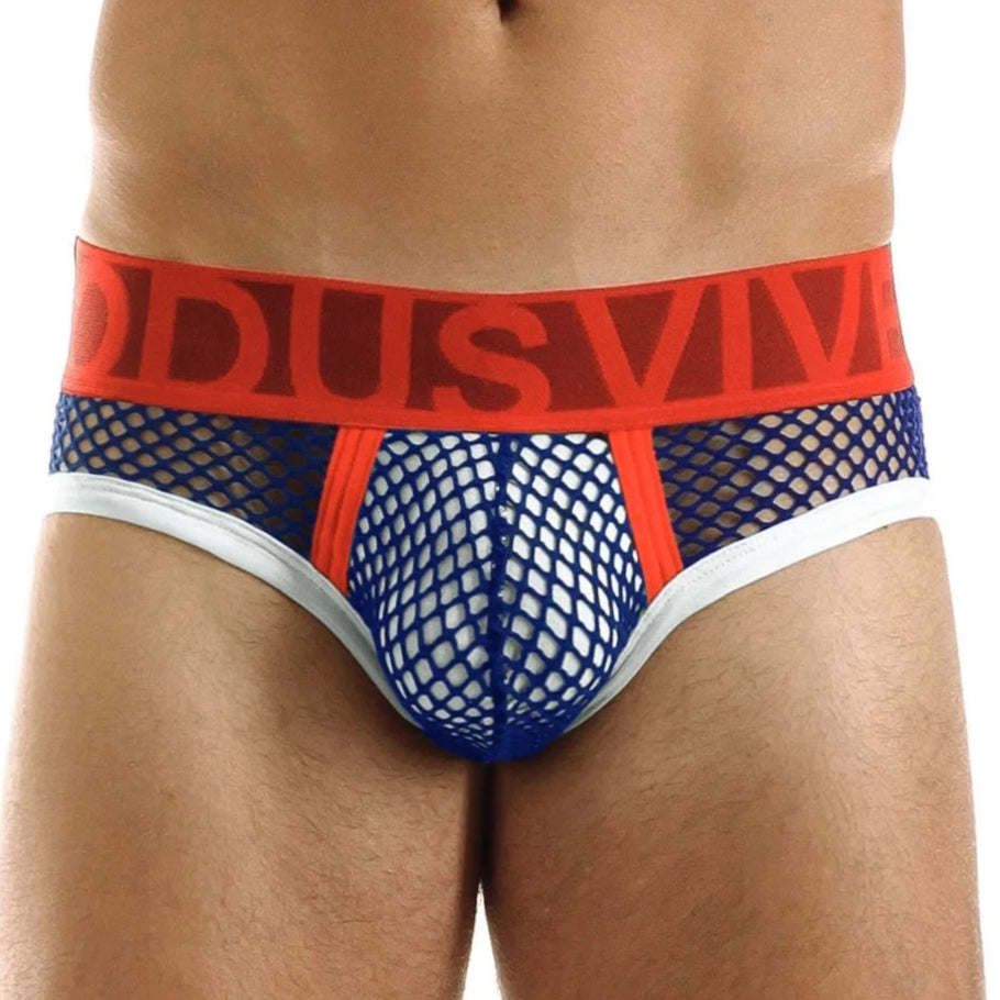 C-Through Brief - Blue/Red - Modus Vivendi - trender-wear.myshopify.com